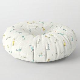 Candy Cats Floor Pillow
