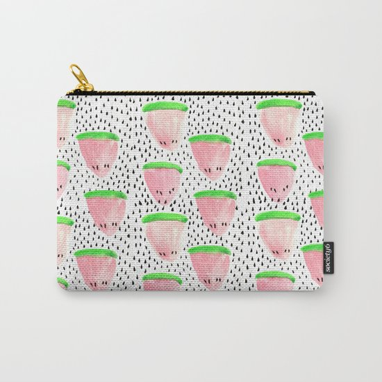 Watermelon Print II Carry-All Pouch