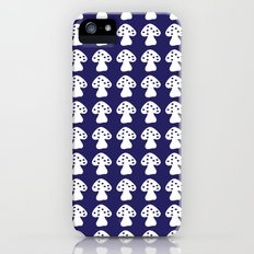mushroom dark blue Slim Case iPhone (5, 5s)