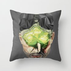 Triangles Video Games Heroes - Sam Fisher Throw Pillow