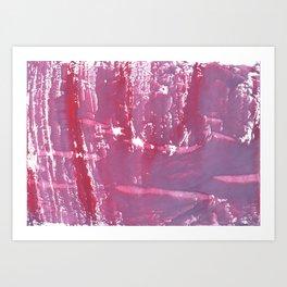 Pale violet Art Print