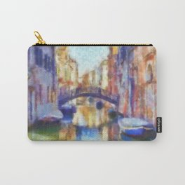 Venice - watercolor - signed Carry-All Pouch