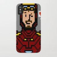 tony stark iPhone & iPod Cases featuring tony stark by saltyking