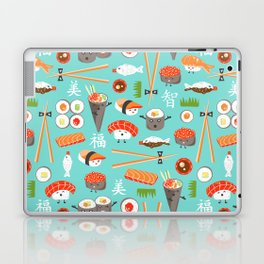 Happy Sushi Laptop & iPad Skin