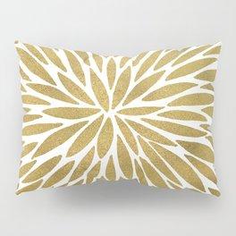 Golden Burst Pillow Sham