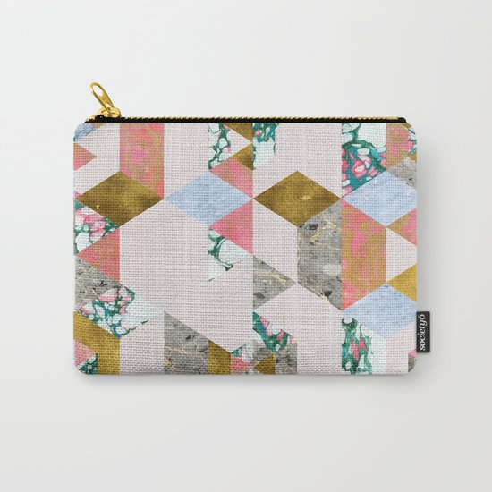 Geometry of Love #society6 #decor #buyart Carry-All Pouch