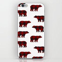 Lumberjack Bears iPhone Skin