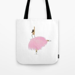 Pink Ballerina - Sofia Tote Bag