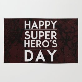 Happy Superhero´s Day V.2 Rug