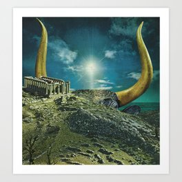 The Horned God Art Print