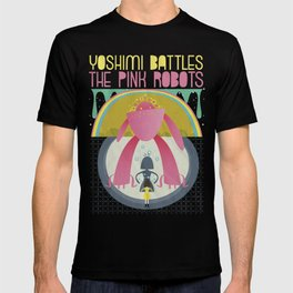 "The Flaming Lips ""YOSHIMI BATTLES THE PINK ROBOTS "" T-shirt"