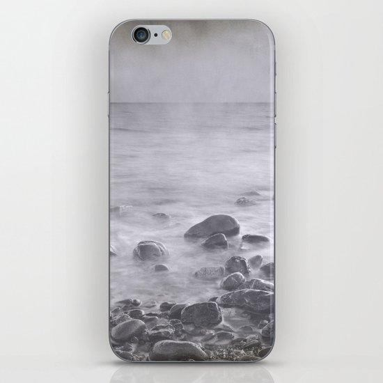 """""""Black sea rocks"""" iPhone & iPod Skin"""