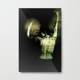 eroticism of music Metal Print