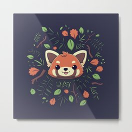 Pandalove Metal Print