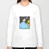 cinderella Long Sleeve T-shirts featuring Cinderella by RaJess