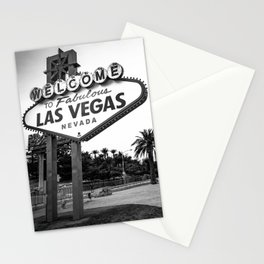 Welcome to Vegas Stationery Cards