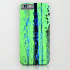 Gerhard Richter Inspired Urban Rain 2 - Modern Art Slim Case iPhone 6s