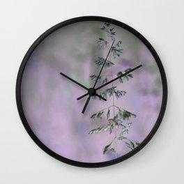 Grass invers Wall Clock