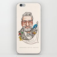 dr seuss iPhone & iPod Skins featuring Dr. Seuss - Quote by Sally Ridge