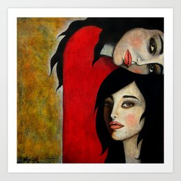 Sisters Art Print
