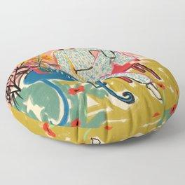 POPPY SEASON Floor Pillow