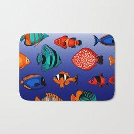 Peces tropicales Bath Mat