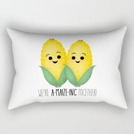 We're A-Maize-ing Together! Rectangular Pillow
