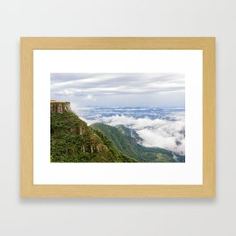 Serra do Rio do Rastro Framed Art Print