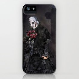 Black Widow - Halloween iPhone Case