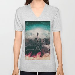 Magneto Fan Art Unisex V-Neck