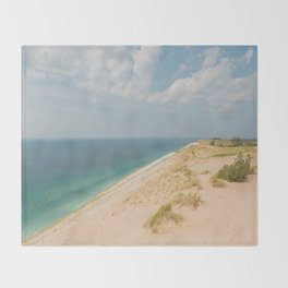 Summer at the Dunes Throw Blanket
