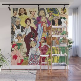 Womans Collection Wall Mural