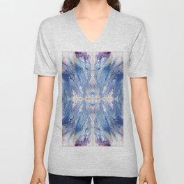 Colorful Water Splash Exotica by annmariescreations Unisex V-Neck