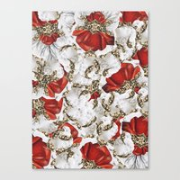 roman Canvas Prints featuring Roman Collage by Eleaxart