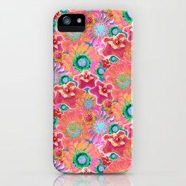 Luminous Floral iPhone Case