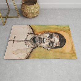 colourful,colorful,poster,wall art,fan art,music,hiphop,rap,rnb,soul,legend,shirt Rug