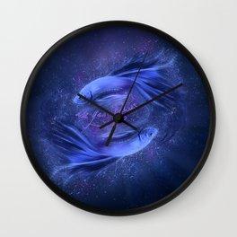 Pisces - Piscis Wall Clock