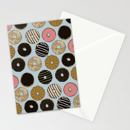 Doughnut Pattern Stationery Cards