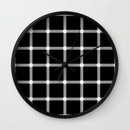 Optical effect Wall Clock