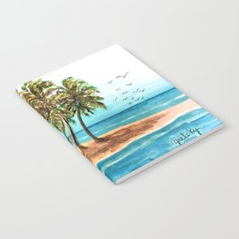 Private Island Painting Notebook
