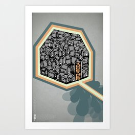 Poster Project   Together Art Print