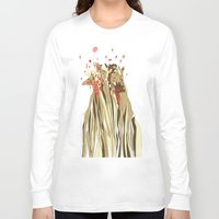 tangled Long Sleeve T-shirts featuring Tangled by Julia Kisselmann