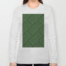 Diagonal Stripes Background 34 Long Sleeve T-shirt