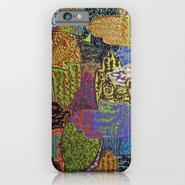 Henna'ed Hands iPhone Case