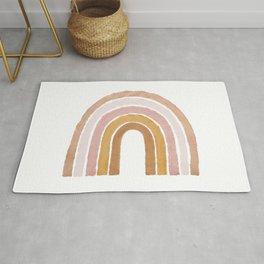 painted rainbow Rug