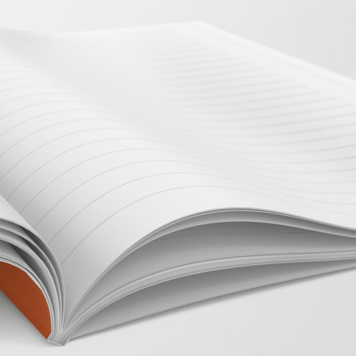 Terracota Pastel Notebook
