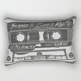 Summer '15 Zombie Mixtape Rectangular Pillow