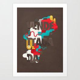 Vendettagada Art Print