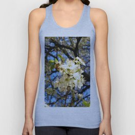 bees on flower Unisex Tank Top