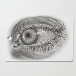 Pencil Eye Cutting Board